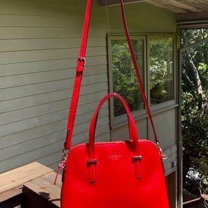 kate spade Bags - kate spade medium dome satchel...worn once